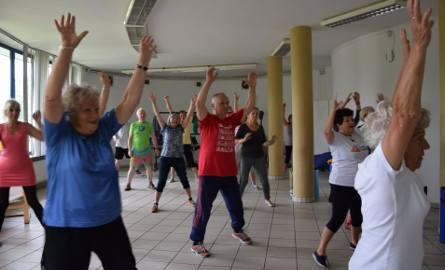 Gimnastyka dla seniorów w Parku Śląskim