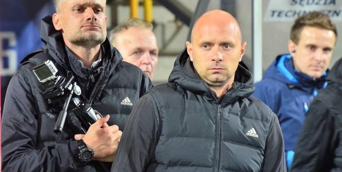 Artur Skowronek mimo słabego początku sezonu wraz ze Stalą Mielec zimuje na wysokiej trzeciej pozycji.