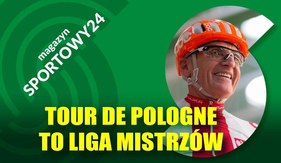 Film do artykułu: MAGAZYN SPORTOWY24. Czesław Lang: TDP to nasza kolarska Liga Mistrzów