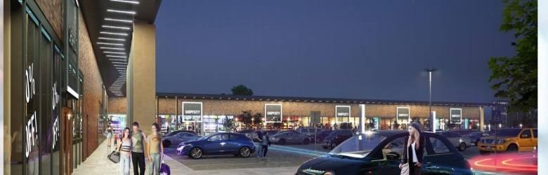 Wizualizacja centrum handlowego Shopp.City w Grudziądzu