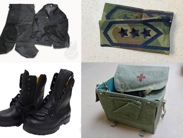 Agencja Mienia Wojskowego w Szczecinie wyprzedaje drobny sprzęt wojskowy. Wśród przedmiotów są m.in. elementy wyposażenia żołnierza, czy też umundurowanie.