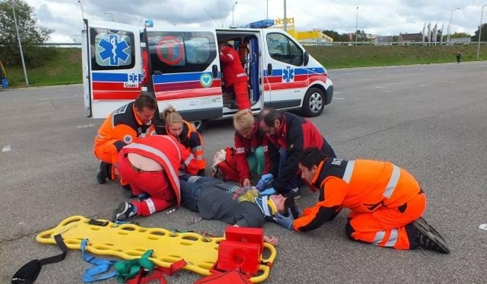 Film do artykułu: W Starachowicach służby ratunkowe ćwiczyły, jak zażegnać kryzys
