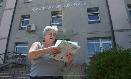 Krystyna Babiarz chce znaleźć pracę na stałe, ale stan zdrowia wyklucza jej skorzystanie z oferty PUP