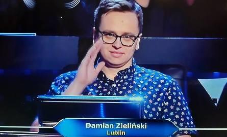 Milionerzy. Gracz z Lublina, Damian Zieliński walczy o wielkie pieniądze. Jak mu idzie?