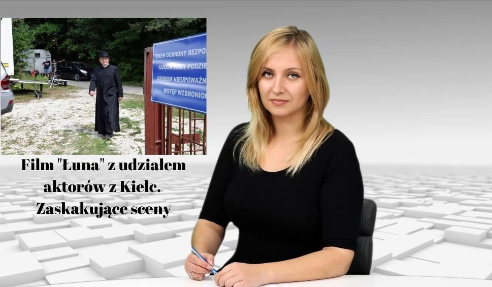 """Film do artykułu: Wiadomości Echa Dnia. Film """"Łuna"""" z udziałem aktorów z Kielc. Zaskakujące sceny"""