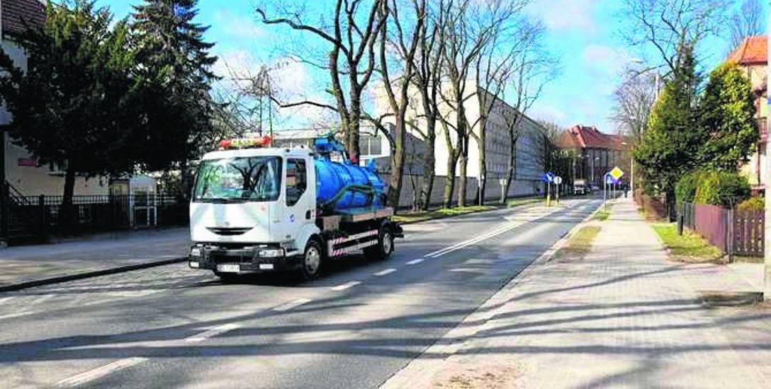 Czytelniczka nie chce ciężarówek na swojej ulicy