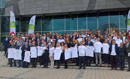 W konferencji w Warszawie wzięli udział m.in. polscy medaliści Światowych Igrzysk Sportowych.