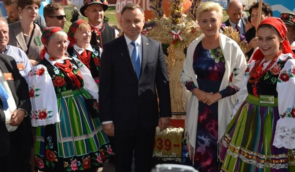 Film do artykułu: Dożynki Prezydenckie w Spale 2019. Na uroczystościach gościł prezydent Andrzej Duda z żoną Agatą [ZDJĘCIA]