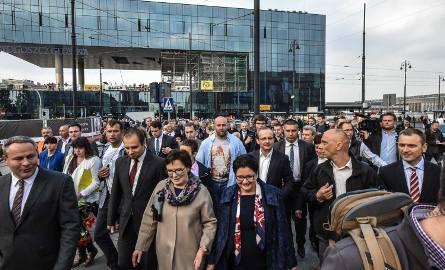 Premier Ewa Kopacz w Bydgoszczy [zdjęcia]