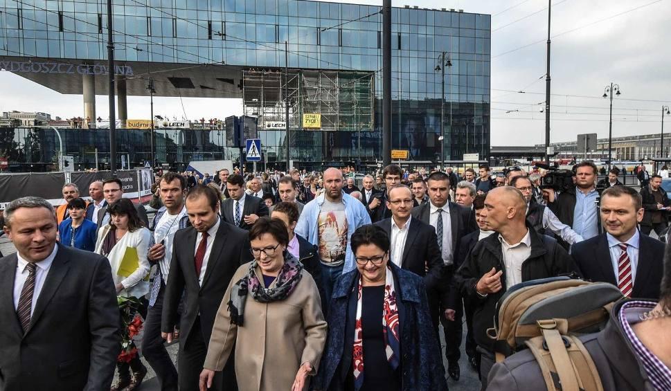 Film do artykułu: Premier Ewa Kopacz w Bydgoszczy [zdjęcia]