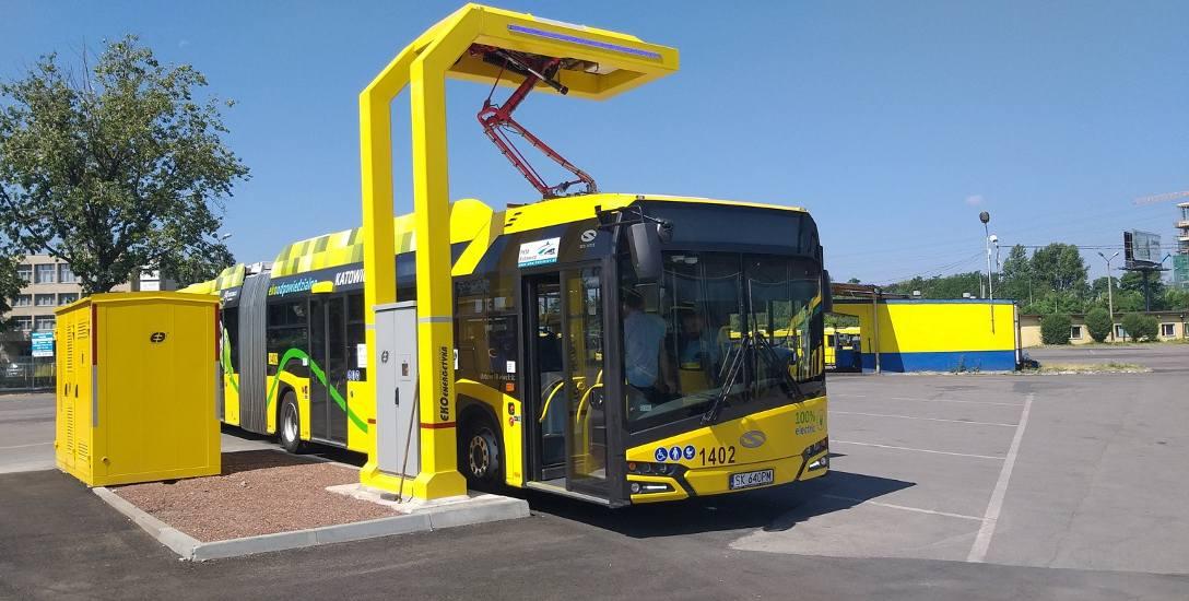 Tak prezentują się autobusy elektryczne w PKM Katowice
