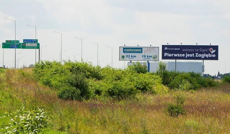 Film do artykułu: Jedziesz na Śląsk? Pierwsze jest Zagłębie! Billboardy stoją przy trasie S1 ZDJĘCIA