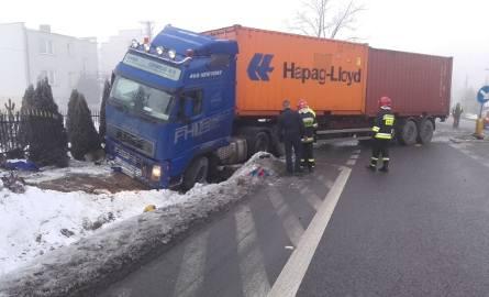 Wypadek w Radlinie. Droga 74 była zablokowana
