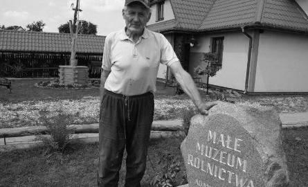 Po ciężkiej chorobie zmarł Adam Jankowski - twórca Małego Muzeum Rolnictwa w Ciepielewie, pow. makowski