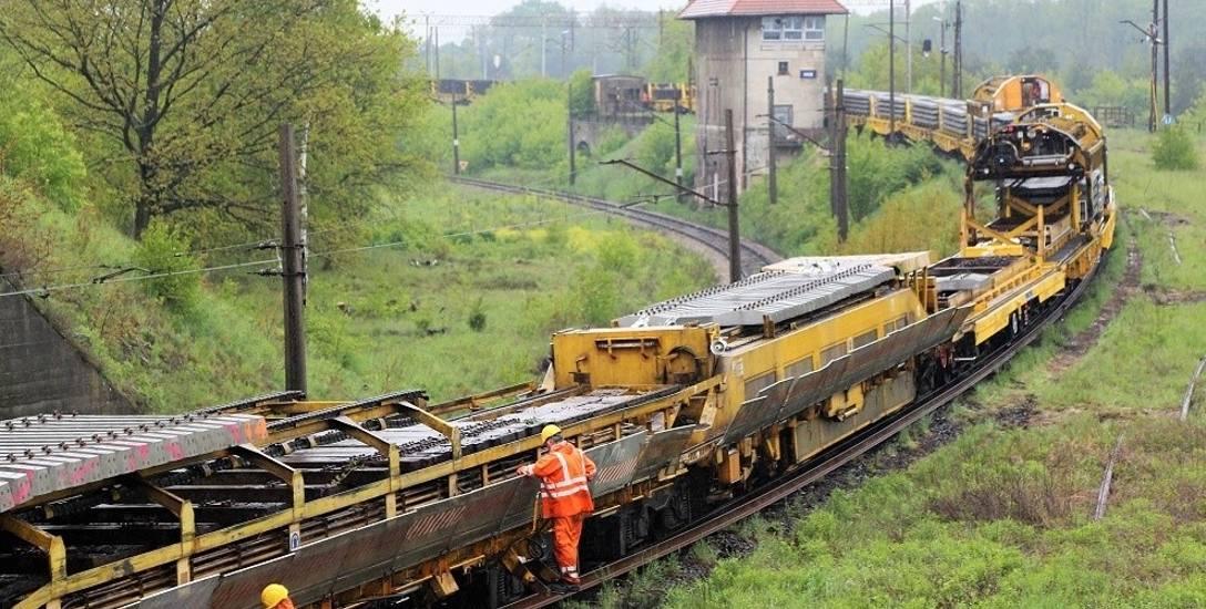 Trzy ważne dla regionu i całego kraju trasy kolejowe są w przebudowie.