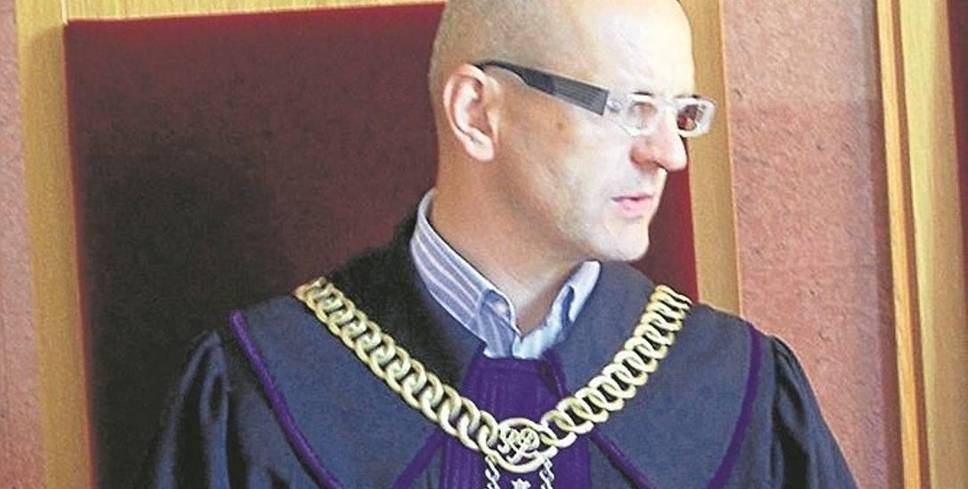 Sędzia Piotr Borkowski z Sądu Okręgowego w Nowym Sączu podczas ogłaszania wyroku nie ukrywał  swoich emocji