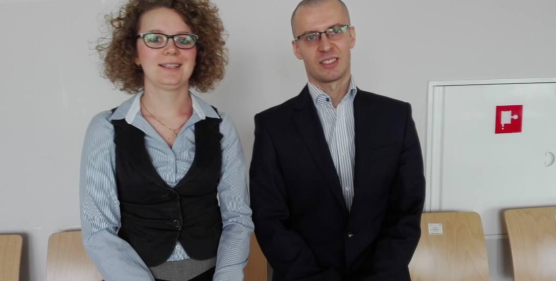Laur Bezpieczeństwa otrzymali  Natalia Kiek i Tomasz Gorzelany