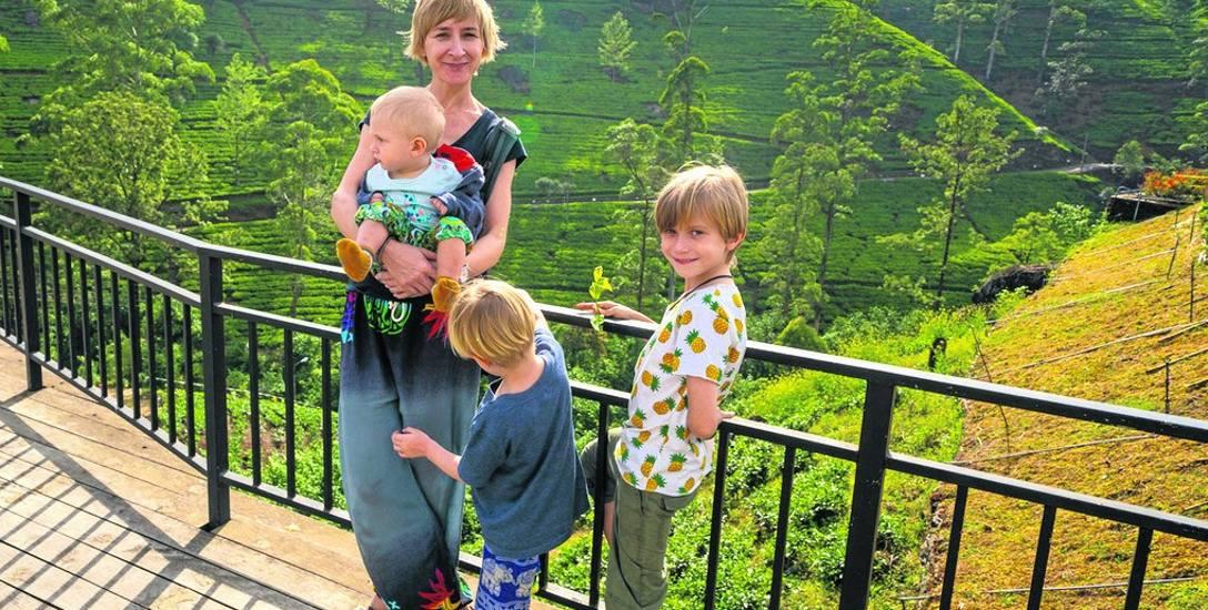 - Kocham podróże. Od początku wiedziałam, że będę wyjeżdżać z dziećmi - mówi Agnieszka Matyga. Właśnie wróciła z rodzinnej podróży na Sri Lankę. To był