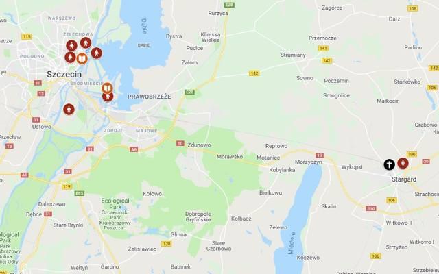 Mapa Koscielnej Pedofilii W Polsce Gs24 Pl