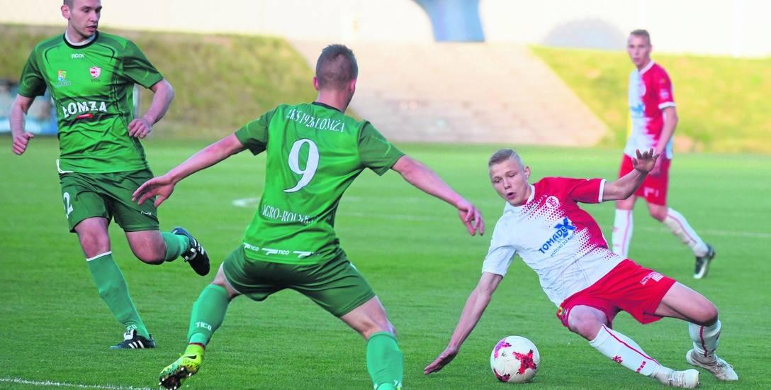 ŁKS Łomża i Olimpia Zambrów zagrają pierwsze mecze o stawkę