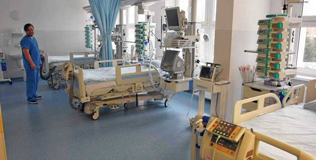 Nowy oddział intensywnej opieki medycznej - duma szczecineckiego szpitala, ale też i kłopot, bo na świetnie wyposażony oddział trafiają chorzy z całego