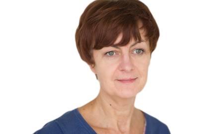 """Anna Czerny-Marecka - redaktor """"Głosu Pomorza""""."""