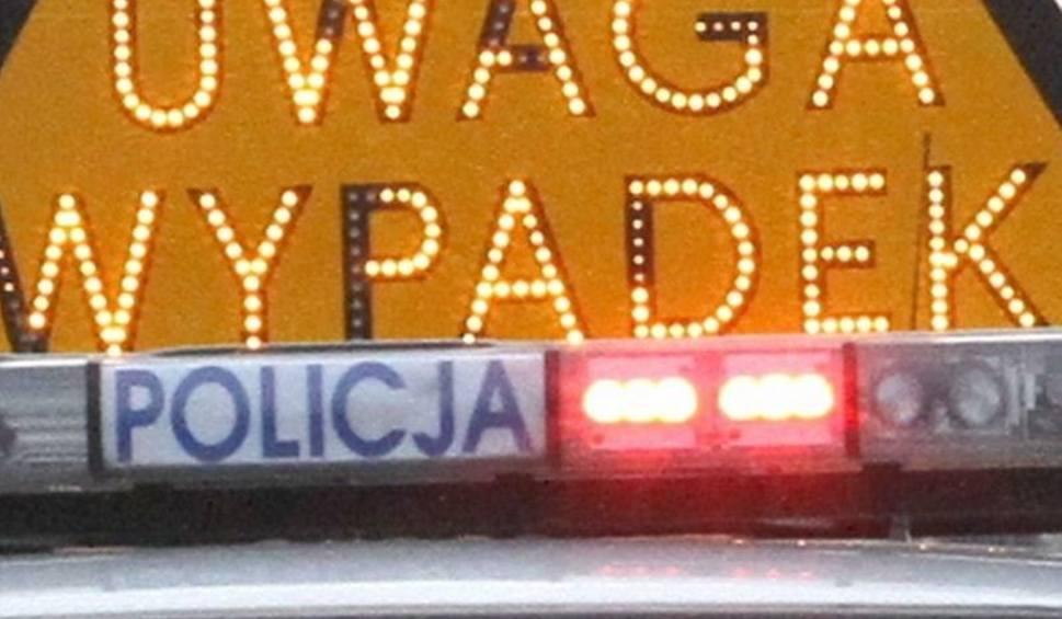 Film do artykułu: Wypadek w Miąsowej. Motocyklista uderzył w ciężarówkę