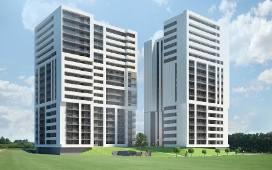 SkyRes to nowoczesny kompleks mieszkaniowo-biurowy, zlokalizowany w rozwidleniu ulic Warszawskiej i Lubelskiej w Rzeszowie