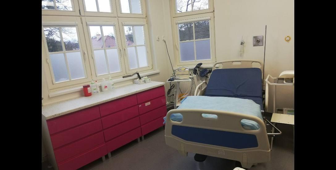 Tak prezentuje się sala porodowa w szpitalu w Chełmnie