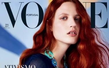 Julia Banaś na okładce Vogue'a