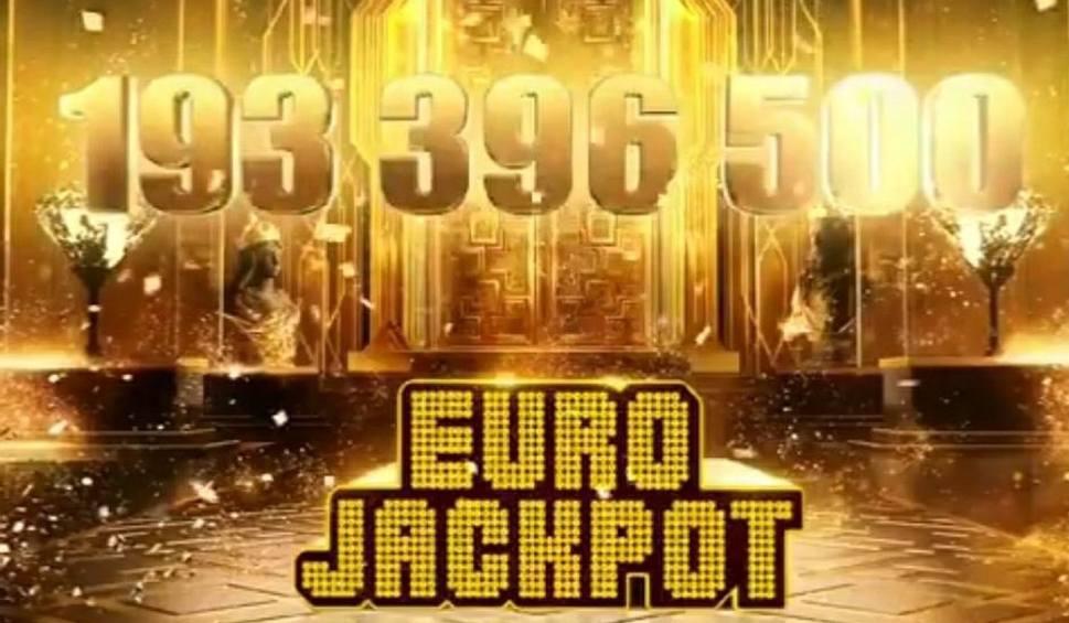 Film do artykułu: Szczęśliwy gracz odebrał rekordową wygraną w loterii Eurojackpot. To ponad 193 miliony złotych!