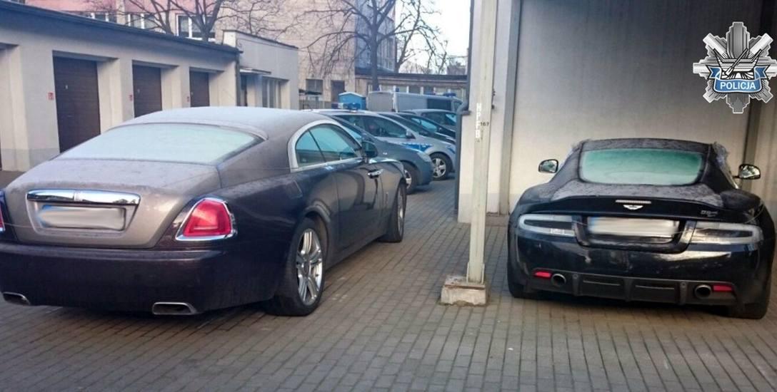 Policja w Łodzi odzyskała dwa samochody  warte w sumie blisko 1,7 mln!
