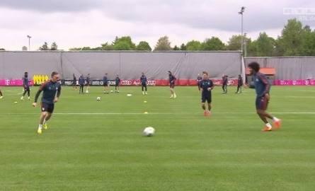 Trening Bayernu Monachium przed spotkaniem z Realem Madryt
