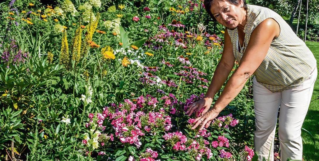 Ogrodem na flisach pani Halina zajmuje się od niemal 40 lat. Wraz z mężem wprowadziła się tam w 1979 r.