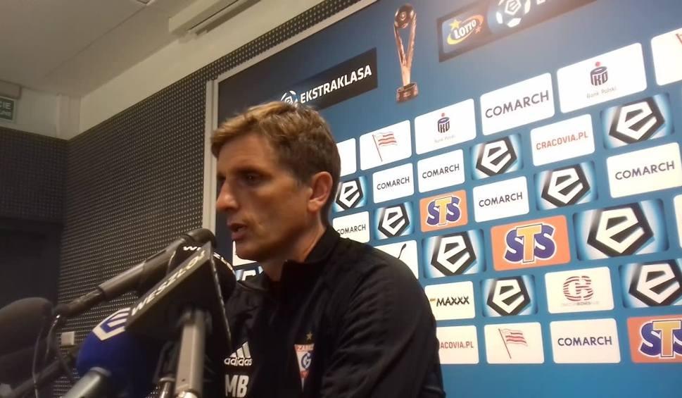 Film do artykułu: Marcin Brosz po meczu Cracovia - Górnik: Graliśmy zbyt nerwowo