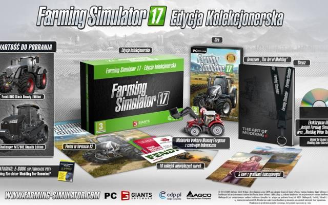 Farming Simulator 17: Traktory, pociągi i edycja kolekcjonerska (wideo)