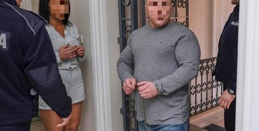 Małżeństwo sutenerów - Agnieszka i Przemysław Ł. - dobrowolnie poddało się karze więzienia