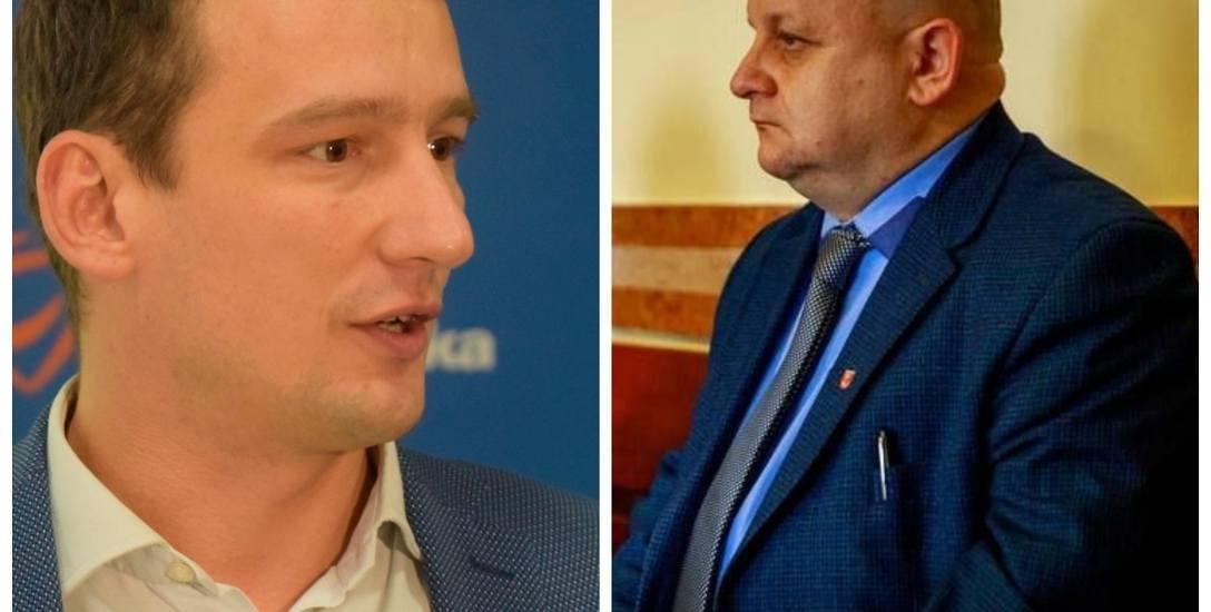Maciej Biernacki (z lewej) zeznał, że zadzwonił do niego Zbigniew Nikitorowicz i spytał, czy jest zainteresowany pracą. Przemysław Sarosiek przypuszcza,