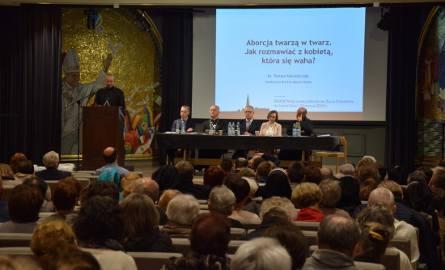 Wystąpienia w Sali Papieskiej podczas XXXIX Pielgrzymki Obrońców Życia na Jasnej Górze