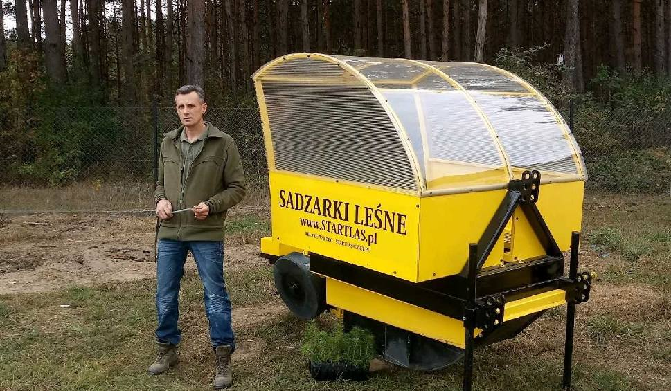 Film do artykułu: Wąbrzeski lider plebiscytu Osobowość Roku 2018 w pół roku stworzył trzecią w Polsce firmę produkującą sadzarki leśne