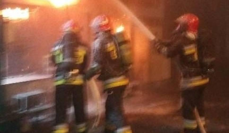 Film do artykułu: Paliła się maszyna w Odlewniach Polskich w Starachowicach