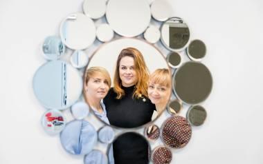Studio K tworzą (od lewej): Katarzyna Wiercińska, Katarzyna Brzezińska i Karolina Wicińska