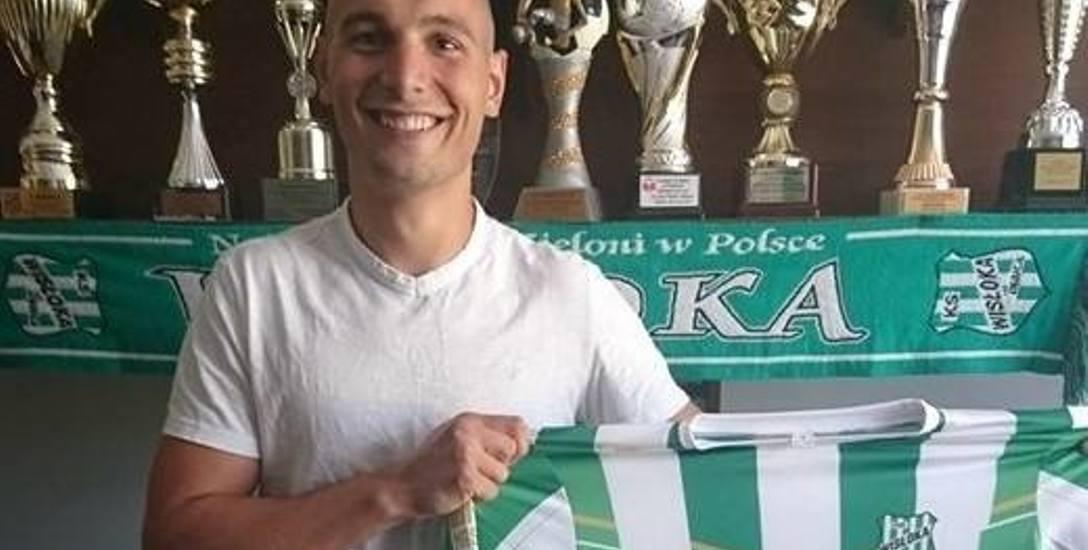 Po roku Kacper Maik wrócił do Wisłoki