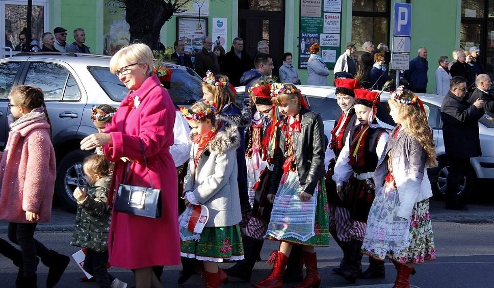 Film do artykułu: Miechów. Miasto świętowało stulecie niepodległości
