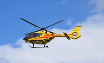 Wypadek motorowerzysty w Brennej. Lądował śmigłowiec LPR