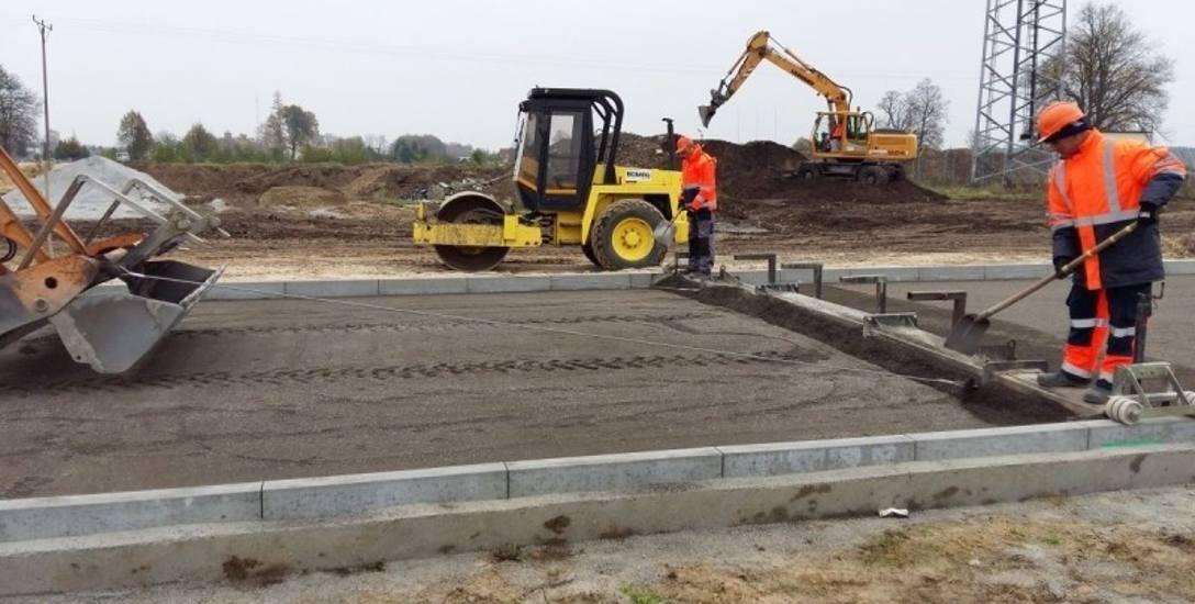 Trwają prace na terenach inwestycyjnych w Babimoście i Kargowej