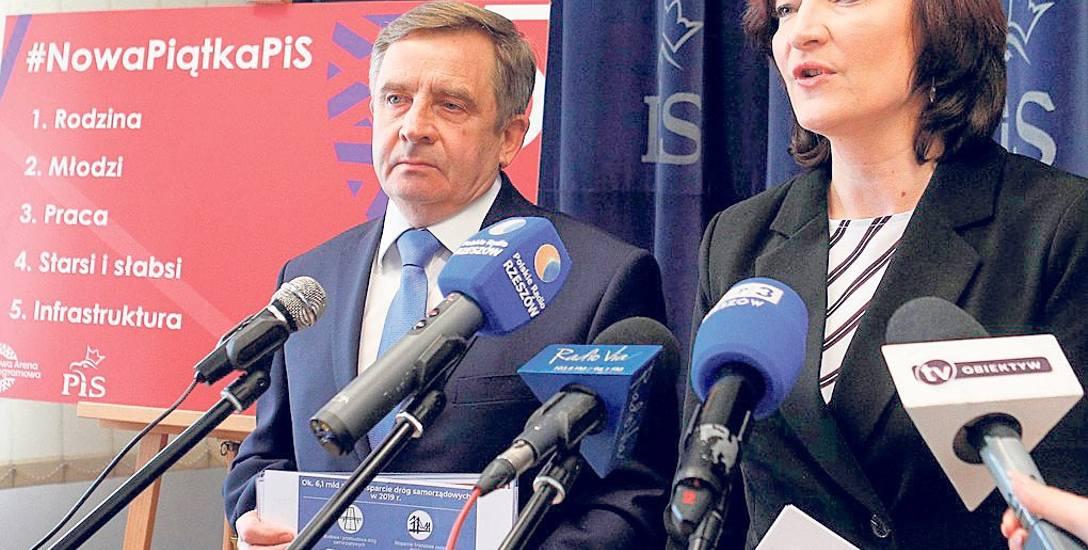 Podkarpaccy politycy PiS komentowali w poniedziałek program ogłoszony przez partię.