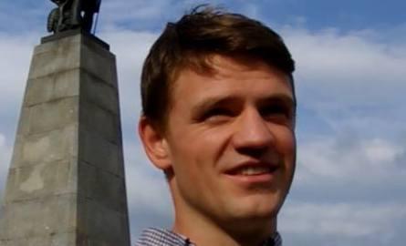 Daniel Chojnacki, oficer rowerowy z Wrocławia