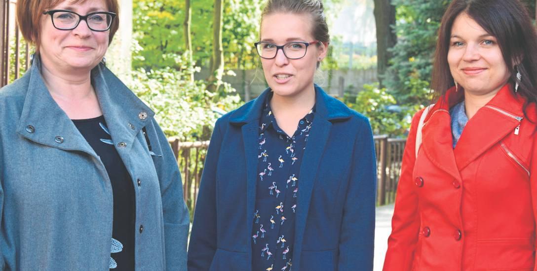 (Od lewej) Lidia Rusińska, Edyta Powałowska i Lucyna Sikorska to tylko część zespołu, tworzącego spółdzielnię socjalną Zielone Oko, która daje szansę