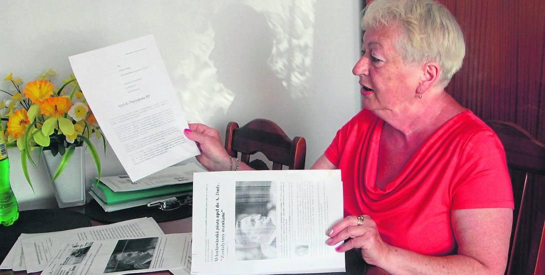 Teresa Szachulska z Włocławka walczy o zmianę zasad naliczania emerytur dla kobiet z rocznika 1953, które poszły na  emeryturę wcześniejszą. Znalazły